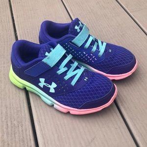 UA | Girls Rainbow Sole Sneakers